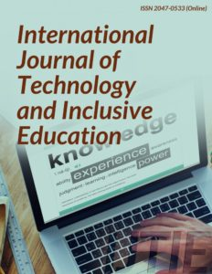 International Journal of Technology and Inclusive Education